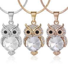 Owl, Fashion, gold, cute
