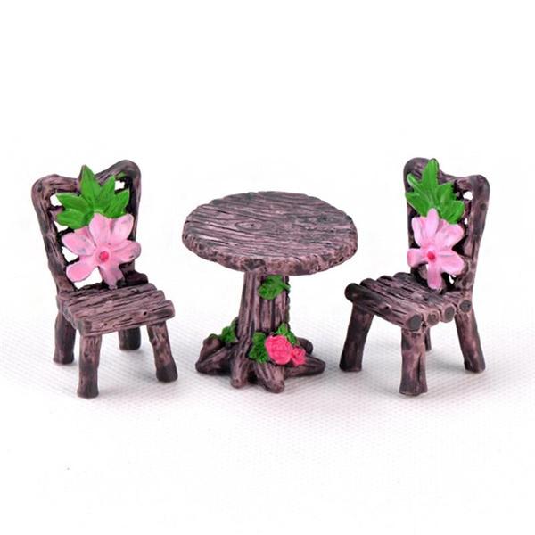 Mini, Toy, gardenfurniture, Garden