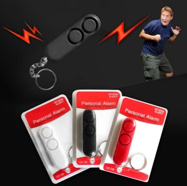Children and Seniors Personal Rape Emergency Alarm Key Ring For Women