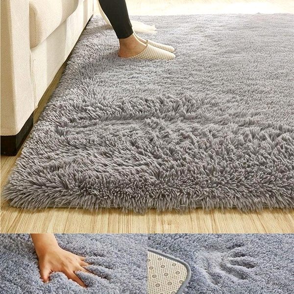 Anti Skid Shaggy Area Rug Floor Mats