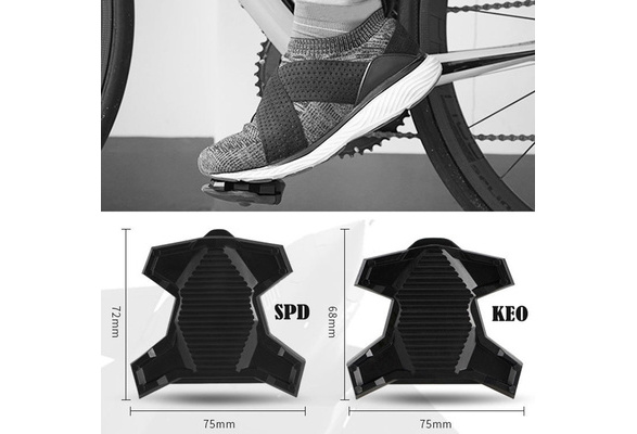 KEO System Road Bike Self-locking Lock Pedal Bicycle Conversion Flat Pedal SPD