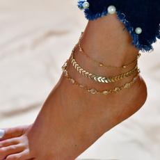 Summer, Jewelry, Chain, Bracelet