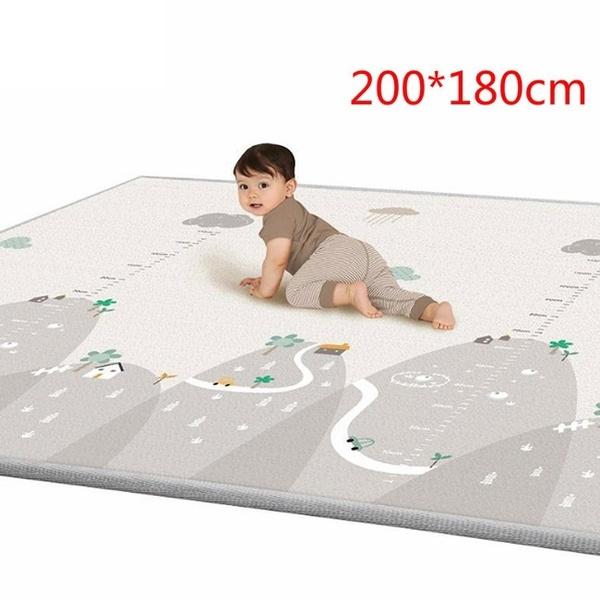 Baby Game Mat Play Crawling Blanket Sleeping Pad Sitting Rug Bedroom Decoration