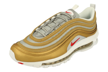 Sneakers, gold, Running, Shoes