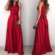 sleeveless, Fashion, long dress, Evening Dress