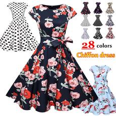 chiffon, Dress, Elegant, beach dress