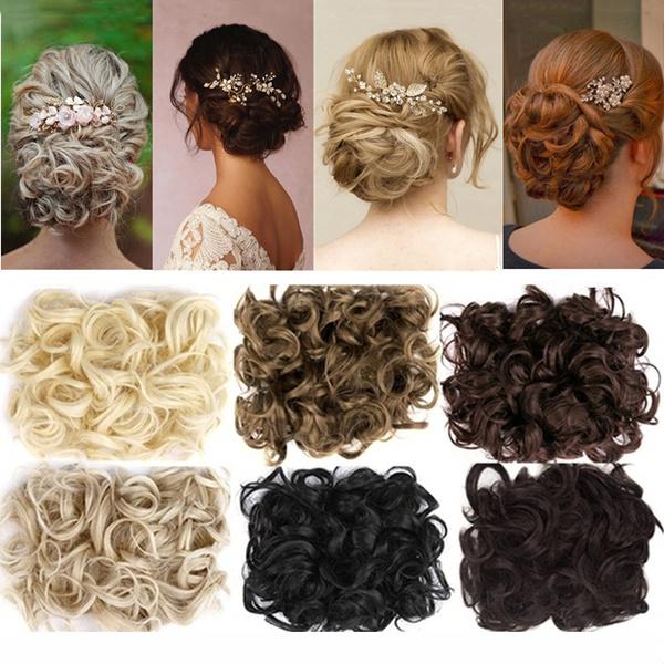 ponytailextension, hairchignon, Hairpieces, hairbun