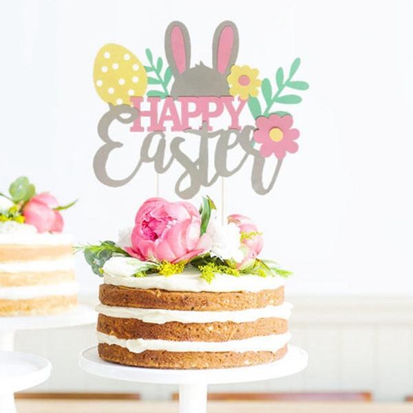 easterdecoration, Decor, Baking, rabbitcake