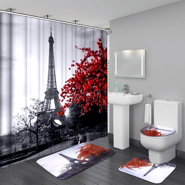 Eiffel Tower Paris Landscape Bathroom
