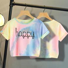 blouse, Summer, Shorts, crop top