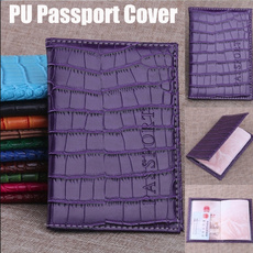leather wallet, passportprotector, purses, Cover