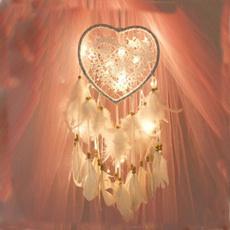 Heart, Fashion, Night Light, Dreamcatcher