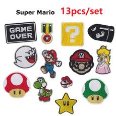 Mario, irononapplique, Cloth, badgespatch