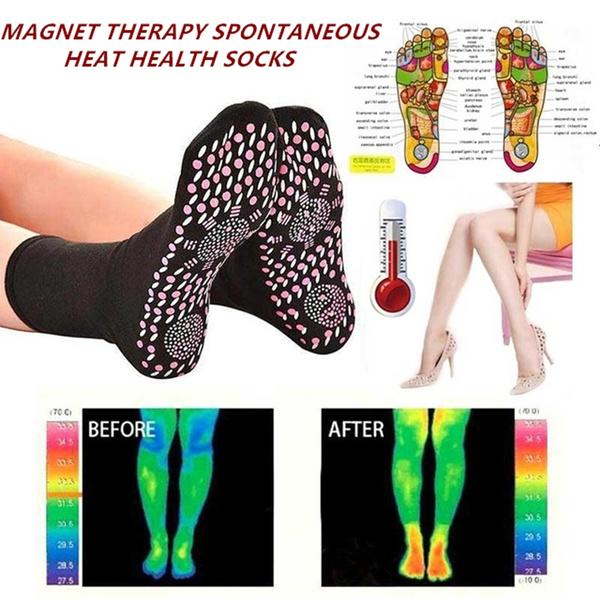 selfheatingsock, tourmalinesock, magnetictherapy, socksforwomen