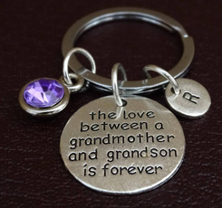 forever, Key Chain, grandson, Gifts