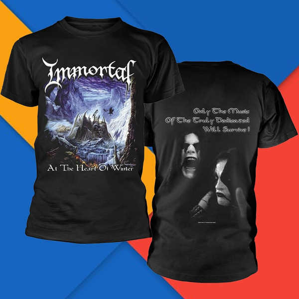 Immortal T Shirt/ /At The Heart of Winter