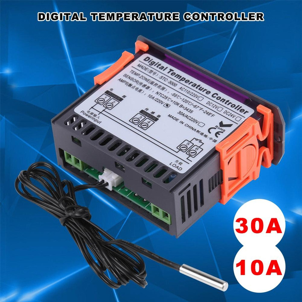 STC-3000 110V-220V 10//30A Touch Digital Temperature Controller