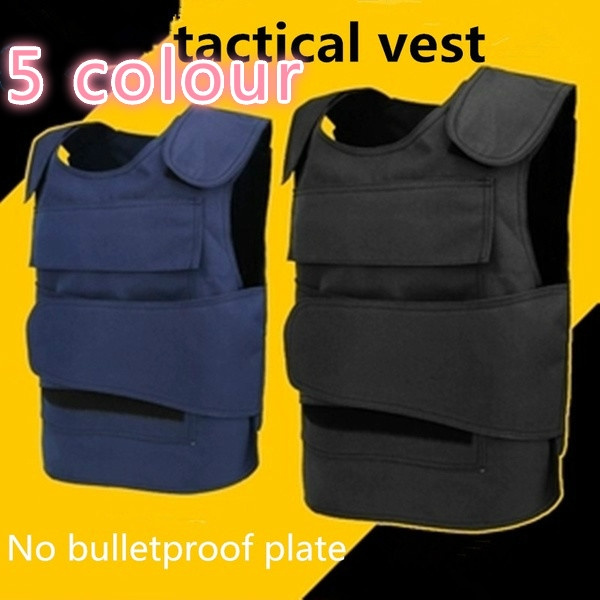 2019 Tactical Vest Body Armor Vest Stab,resistant Clothing Military Anti  Stab Hard Self,Defense