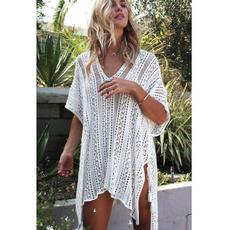 Summer, womenssummercoverup, crochetcoverup, Lace
