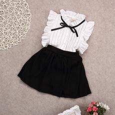 Summer, Toddler, kids clothes, chiffon dress