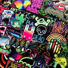 case, Car Sticker, Neon, lights