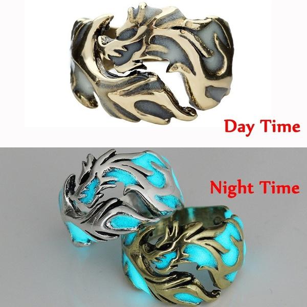 men_rings, dragonring, retro ring, luminousring