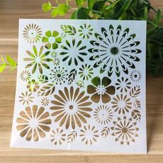 stencil, Scrapbooking, diycraft, papercraft