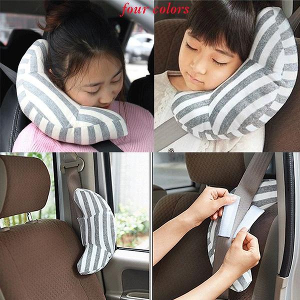 Sleeping Head Neck Support Seatbelt Shoulder Pads Car Pillow Headrest