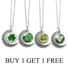 Clover, Grass, leaf, Jewelry