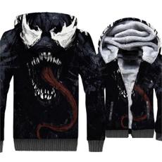 Jacket, Fleece, hooded, Winter