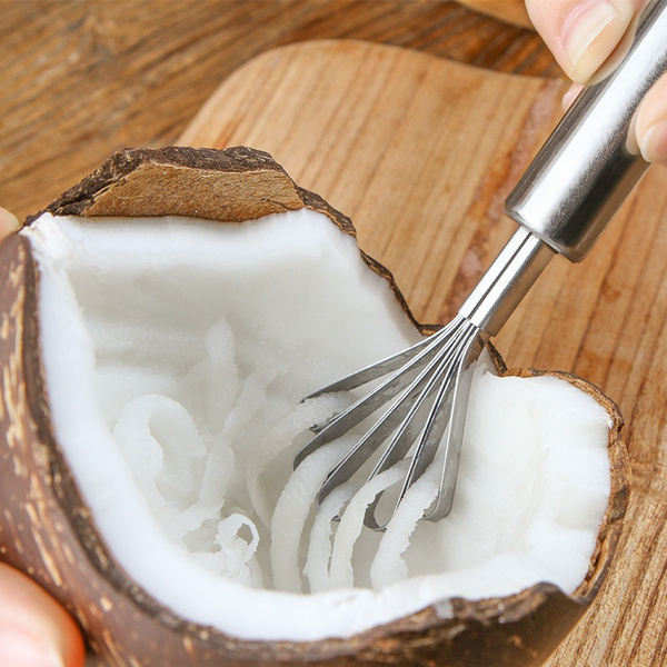quickcutfruitgadget, Steel, coconut, Meat
