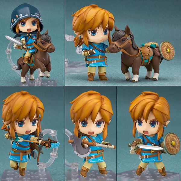 Breath of The Wild Link Figure Deluxe Nendoroid Style The Legend of Zelda