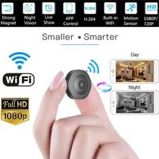 motiondetection, Mini, spycamerawifi, Waterproof