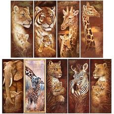 Tiger, Decor, DIAMOND, Home Decor