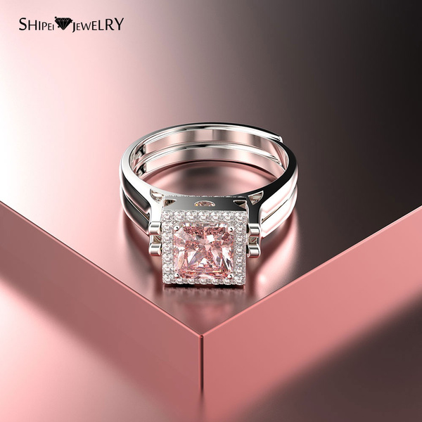 White Gold Unique Wedding Rings For Women