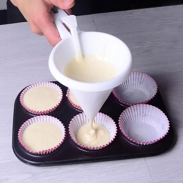Chocolate Funnel Dispenser Cake Decorating Dispenser Tools Kitchen Accessories