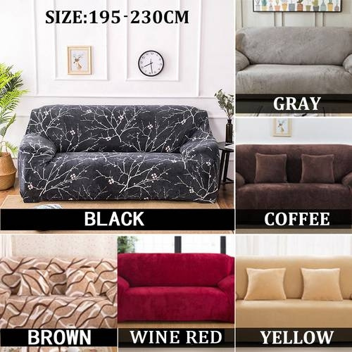 Brilliant One Two Three Person Sofa Seater Stretch Chair Sofa Covers Couch Cover Elastic Slipcover Protector Dailytribune Chair Design For Home Dailytribuneorg
