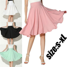 skirtforwomen, vintageskirt, high waist, Summer