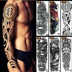 tattoo, Tattoo sticker, art, skull