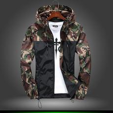 Casual Jackets, Fashion, Spring, Slim Fit