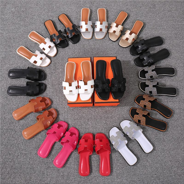 H Type Slippers Female Summer Fashion Wear Flat Bottomed Word Ladies Sandals And Slippers Female Outdoor Sandals Tide by Wish