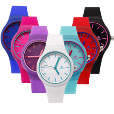 simplewatch, Fashion, siliconestrap, Bracelet Watch