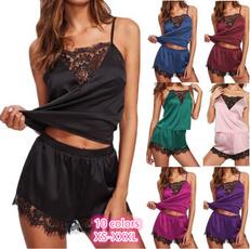 Fashion, Lace, nightwearforwomen, womenslacepajama