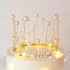 lights, Princess, weddingcake, crown