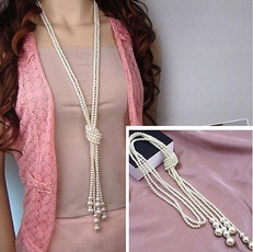 imitationpearlsnecklace, Chain Necklace, Fashion, Jewelry