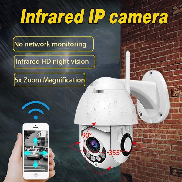 New IP Camera WiFi 2MP 1080P IP66 Waterproof Wireless Speed Dome CCTV IR  Onvif Camera Outdoor Security Surveillance Ip Cam Camara Exterior