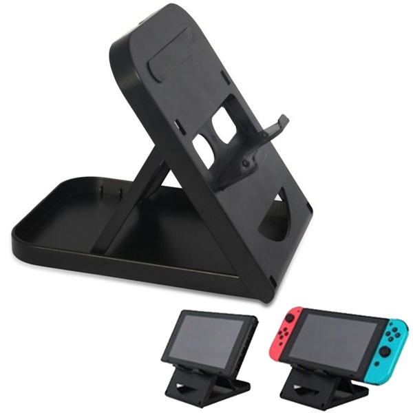 Foldable Game Console Stand Adjustable Bracket Holder Special For Nintendo Switch Console Wish