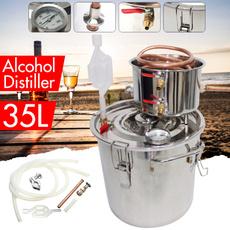 Copper, homebrewingkit, Alcohol, distiller
