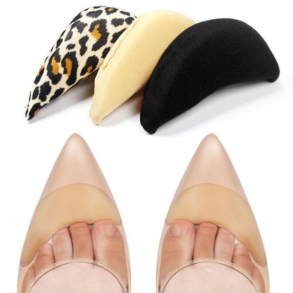 Sponge Toe Plug Half Forefoot Cushion Insoles for Big Shoes Anti-pain Soft