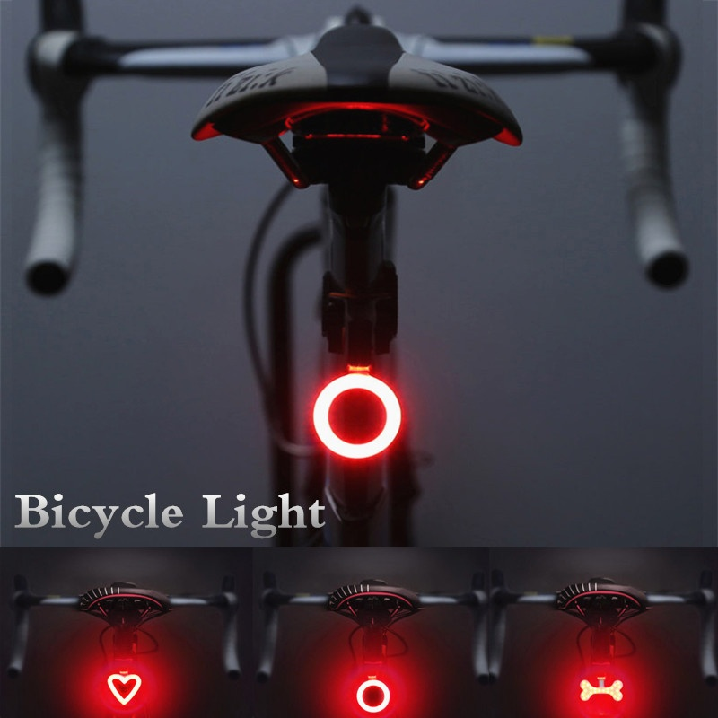Taillight LED Bike Rear Tail Lamp Cycling Bicycle Safety Flash Warning TailLight